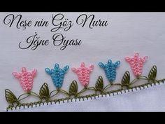 195- Çok Farklı ve Kolay Çıtı Pıtı Bir Yazma Modeli Anlatımı - YouTube Needle Tatting, Tatting Lace, Needle Lace, Crochet Doily Patterns, Crochet Borders, Crochet Doilies, Crochet Unique, Russian Crochet, Viking Tattoo Design