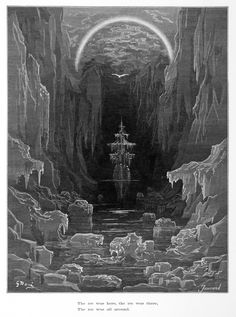 Samuel Taylor Coleridge, The Rime of the Ancient Mariner, illustrated by Gustave Doré.