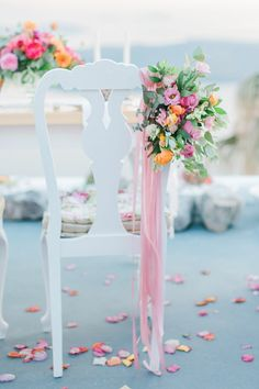 Weddings and Whimsy in Santorini