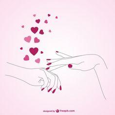 Una caricia de Amor a tus manos!!