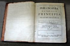 Isaac Newton's own copy of his Principia, with hand-written corrections for the second edition. This was published on 5 July 1687. Written entirely in Latin! How many of you could write a novel in Latin? Let alone a scientific work!!! (I would love to own this!)