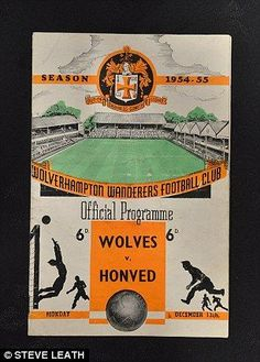 Wolves' win over Honved at Molineux in 1954 inspired Champions League