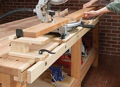Turn any workbench into a multipurpose workstation with this versatile rail system.