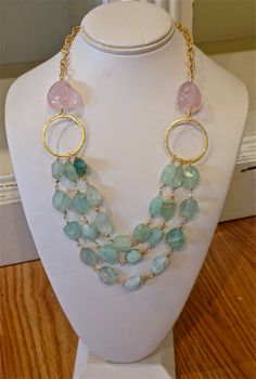 Love this little shop in Maderia, Ohio :)  Such a pretty necklace!
