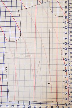 how to grade a sewing pattern