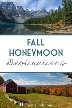 Trying to plan a fall honeymoon? Consider one of our top fall destinations below… Trying to plan a fall honeymoon? Honeymoon Tips, Honeymoon Night, Honeymoon Vacations, Best Honeymoon Destinations, Honeymoon Planning, Honeymoon Places, Hawaii Honeymoon, Romantic Honeymoon, Romantic Destinations