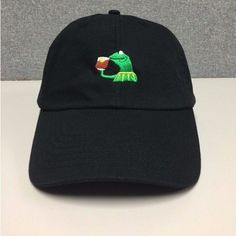 847b43e7bf3 Dad hat 2017 for men Drake Daddy caps KERMIT NONE OF MY BUSINESS  UNSTRUCTURED DAD HATS FROG TEA LEBRON JAMES NEW casquette
