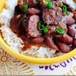 Lighter Red Beans & Rice (Crock Pot Recipe)
