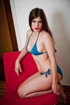 SAM BIKINI Strickset aus Pima Baumwolle um sich diesen schönen Bikini selber zu stricken.