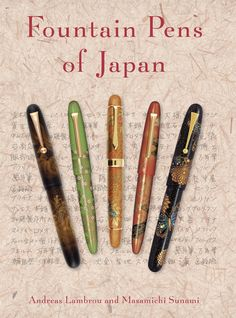 Fountain Pens of Japan, Kaplan Pens and Books version - Cover