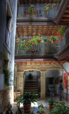 Interior of Hotel, El Puerto de Santa Maria, Andalucia  Spain