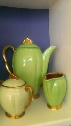 Carlton ware green.