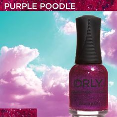 Purple Poodle from #ORLYSurreal. Available now at http://www.orlybeauty.com/nail-color/nail-color-by-collection/surreal-5.html