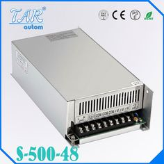 (52.00$)  Watch now - http://aimd3.worlditems.win/all/product.php?id=32668436183 - DC Power Supply 48V 12.5A 500w Led Driver Transformer 110V 240V AC to DC48V Power Adapter for strip lamp CNC CCTV