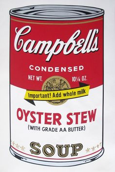 Andy Warhol, 'Campbell's Soup II: Oyster Stew (FS II.60),' 1969, Revolver Gallery Screenprint 35 × 23 in 88.9 × 58.4 cm