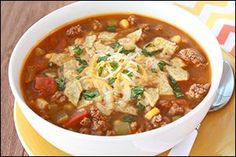 Hungry Girl's Mexican Taco Soup