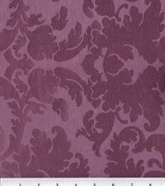 Box-Pleated Wall Hangings {Option 2} - Richloom Milton Plum: home decor fabric: fabric: Shop   Joann.com