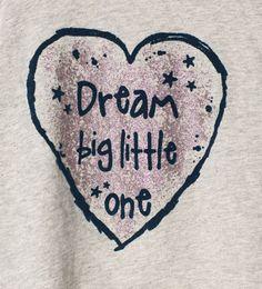 Image 5 of Shiny heart T-shirt from Zara