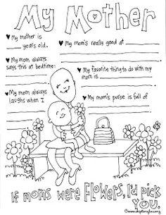 Free Motheru0027s Day Printables