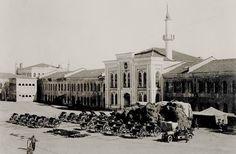 Taksim Topçu Kışlası, 1916