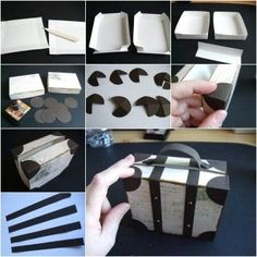 How to DIY Creative Luggage Style Gift Box