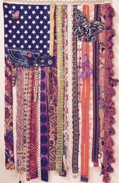 American Flag Tapestry Boho Flag Boho Chic by RagFlag on Etsy