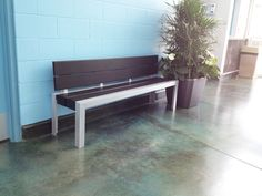 Maglin's bench is purrrfect for the Delta Animal Shelter, in Delta, BC. Outdoor Furniture, Outdoor Decor, Animal Shelter, Bench, Home Decor, Animal Shelters, Homemade Home Decor, Benches, Desk