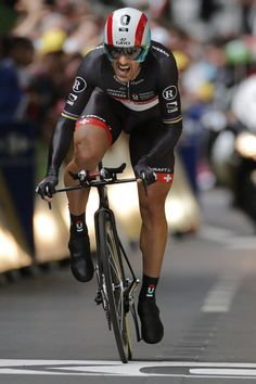 LIEGE, Belgium — Fabian Cancellara of Switzerland has won the opening-day prologue of the Tour de France to capture the leader's yellow jersey.