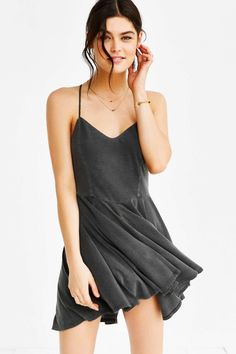 CXM Ballerina Slip Dress - Urban Outfitters