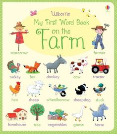 There are over 250 farm-related words for children to discover and learn in this delightfully illustrated word book. Words are arranged in themes such as farm animals, in the farmhouse, food from the farm and things that go. Each word is brought to life with a colourful illustration. With sturdy board pages designed to withstand being read and talked about time and time again.