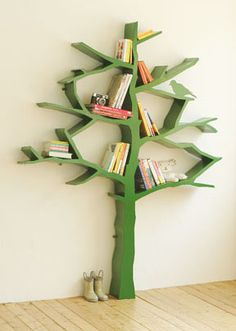 Booktree: I think this is so cool. I would love this for a play room.