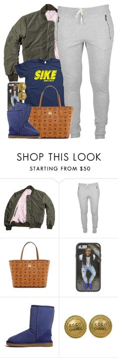 """""""Untitled #1493"""" by power-beauty ❤ liked on Polyvore featuring MCM, UGG Australia, Chanel, women's clothing, women, female, woman, misses and juniors"""