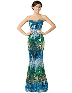 Grace Karin® Sequins Strapless Long Prom Evening Dresses Blue Colorful Sheath GRACE KARIN http://www.amazon.com/dp/B00RZ4ZKNG/ref=cm_sw_r_pi_dp_sK1uvb082GAR9