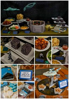 Star Trek: The Next Generation Party | http://horriblehousewife.com/2016/04/star-trek-the-next-generation-party/