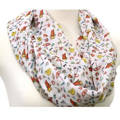Handmade cute vacation scarf. Buy any two scarves get the 3rd one for free. Mention coupon code 3 FOR2. Customers in US only