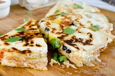 BBQ chicken quesadillas. Load up your quesadillas with barbecue rotisserie chicken for a filling snack or fun meal.