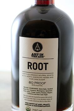 ROOT - Includes: (Birch Bark, Black Tea, Cane Sugar, Sassafras, Citrus, Allspice, Anise, Cloves, Cinnamon, Nutmeg, and Cardamom). If you're thinking Root sounds a bit like Root Beer, you're on the right track. Root is actually what Root Beer was before it was Root Beer. Before prohibition.