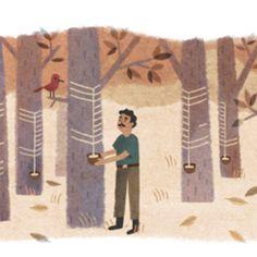 Chico Mendes é homenageado por doodle do Google