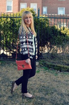 Bag and sweater, F21