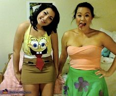 would love to do this spongebob partrick halloween costume one year :)