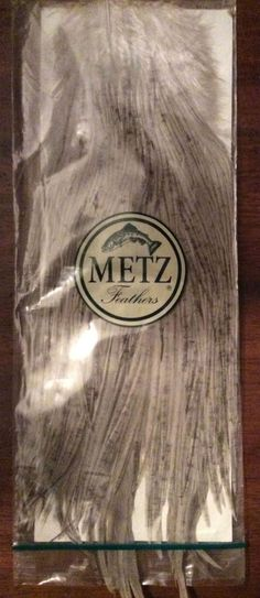 METZ Fly Tying Feathers / Fishing Supplies  Saddle hackle   #Unbranded