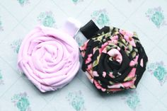 2 x Little Girls Hair Clips  'Vintage Roses' by JaspieDaultie, $3.50