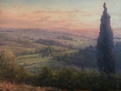 Michael Orwick - Tuscan Valley- Oil - Painting entry - Art Lockdown Exhibit | BoldBrush Painting Competition