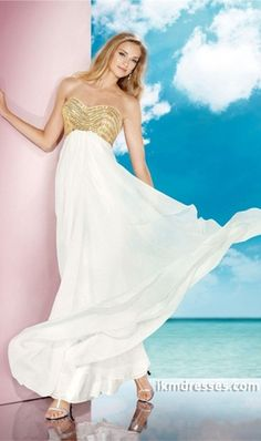 http://www.ikmdresses.com/2014-Glod-Crystal-Beaded-Bodice-Open-Back-With-Keyhole-Flowing-White-Chiffon-Skirt-p84775