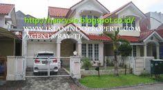 Double Storey Terrace House Pakuwon Indah Villa Valencia Surabaya