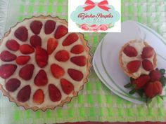 Cozinha Simples da Deia: Torta de morangos