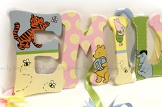 Hey, I found this really awesome Etsy listing at https://www.etsy.com/listing/220593018/winnie-the-pooh-nursery-lettering