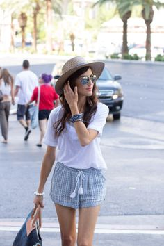 Image Via: Stylin by Aylin in the Tasseled Beach Shorts
