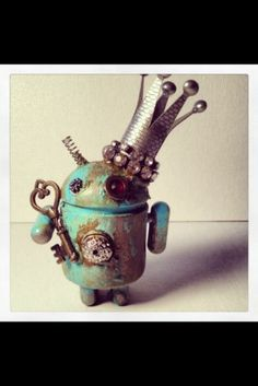 "Custom vinyl Toy Android 3"" King Android"
