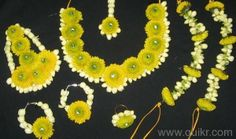 Fresh Flower Jewellery Available in Surat for Mehendi/Haldi/Baby ...